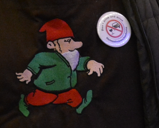 """Button """"Dont'n Drink and Drive"""" bei Enrico Becker - Foto: gik"""