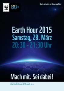 Earth Hour 2015 Plakat