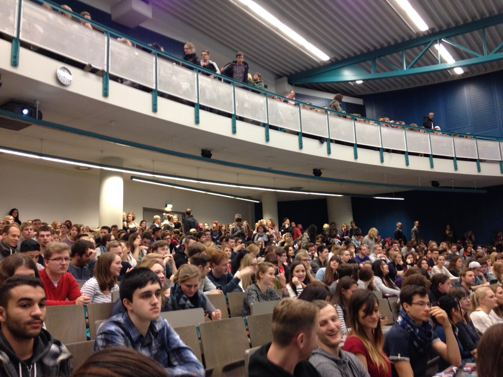 Erstsemester Uni Mainz WS 2014 - Foto: gik