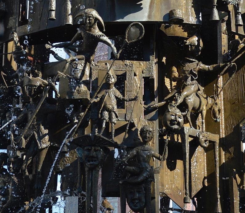 Mönch und Bajazz, Römer, Till und Vater Rhein - Mainzer Fastnachtsbrunnen wird am Samstag 50 Jahre alt