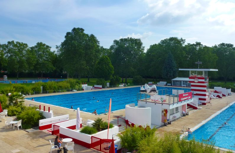 Freibad Mombach