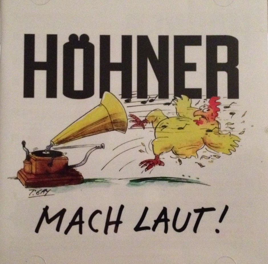 Höhner CD Cover Macht laut!