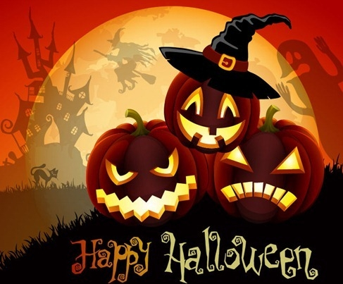Happy Halloween Vector Grafik