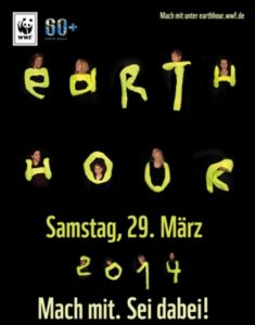 Plakat Earth Hour 2014