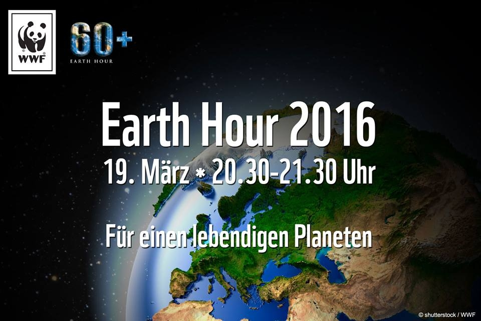 Plakat Earth Hour 2016
