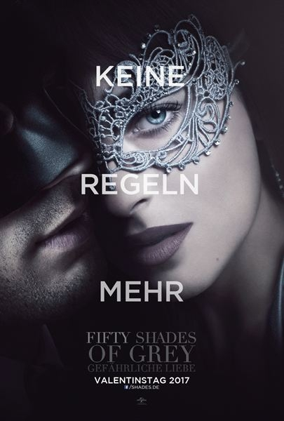 Plakat Fifty Shades of Grey Teil 2 neu
