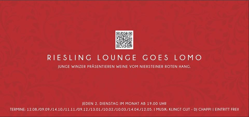 Riesling Lounge goes Lomo