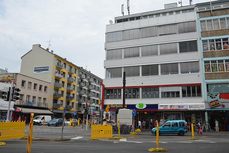 Schillerstraße soll Einbahnstraße werden, Große Langgasse Kreisel kriegen - Geschäftsleute befürchten massive Nachteile