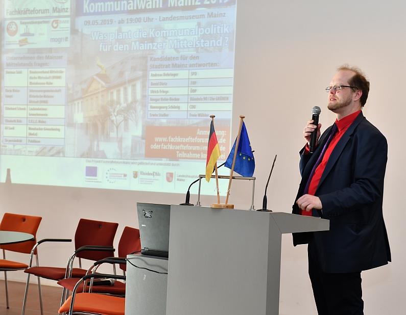 Quartiersprojekte, Leerstände, Wirtschaftsförderung - Fachkräfteforum Mainz befragte Kommunalpolitiker zur Förderung des Mittelstandes